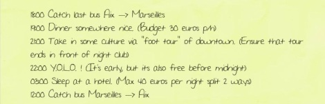 """NB: Here """"foot tour"""" was basically code word for """"too broke to take a taxi lol"""